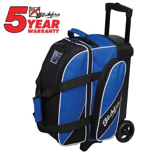 KR Strikeforce Fast Double Roller Royal-Bowling Bag-DiscountBowlingSupply.com