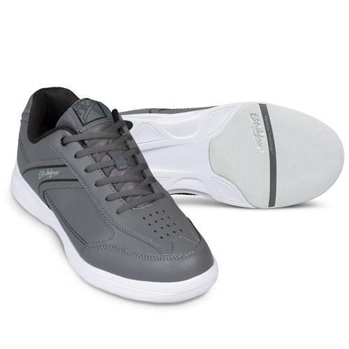 KR Strikeforce Mens Flyer Lite Slate Black Bowling Shoes - DiscountBowlingSupply.com
