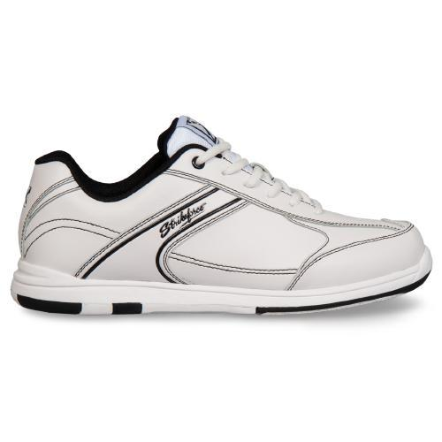KR Mens Flyer White/Black Bowling Shoes - DiscountBowlingSupply.com