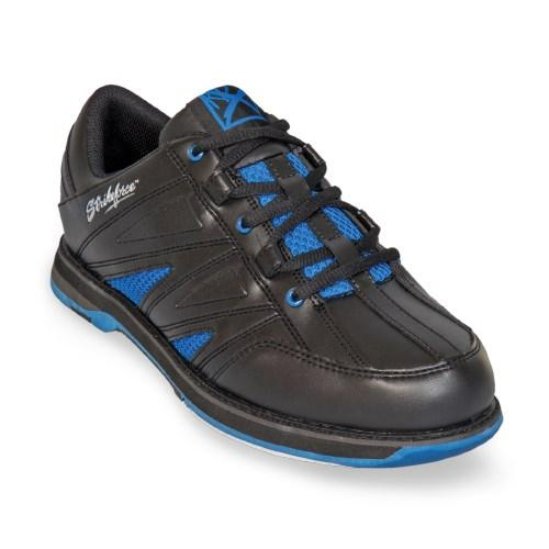 KR Strikeforce Mens Warrior Black Royal Bowling Shoes-DiscountBowlingSupply.com