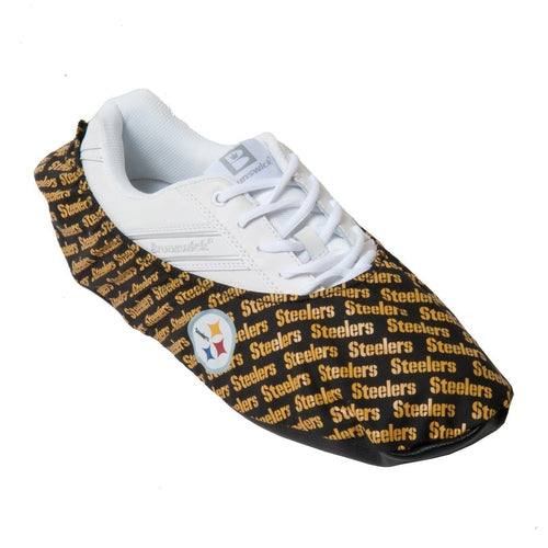 KR Strikeforce NFL Pittsburgh Steelers Shoe Covers - DiscountBowlingSupply.com