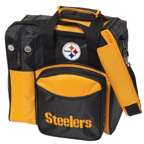 KR Strikeforce NFL Pittsburgh Steelers Single Tote - DiscountBowlingSupply.com
