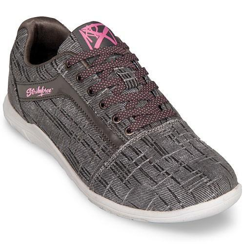 KR Womens Nova Lite Ash Hot Pink Bowling Shoes - DiscountBowlingSupply.com