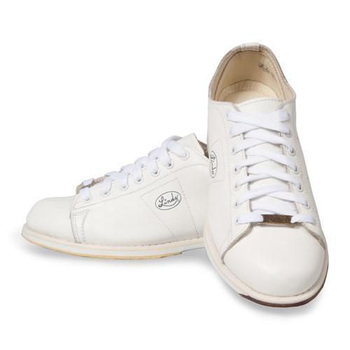 Linds Womens Classic White Right Hand Bowling Shoes-DiscountBowlingSupply.com