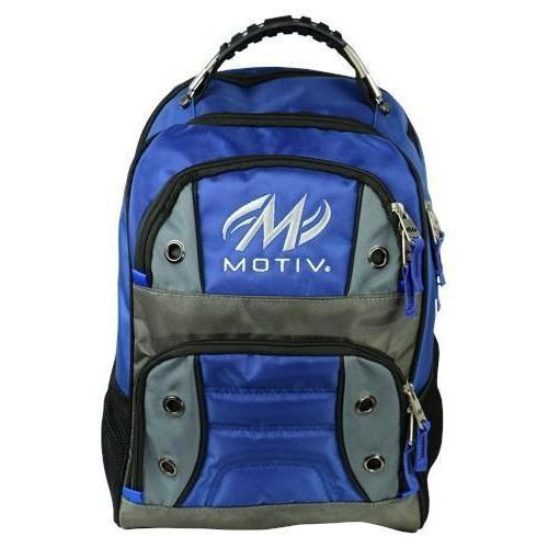 Motiv Intrepid Blue Backpack - DiscountBowlingSupply.com