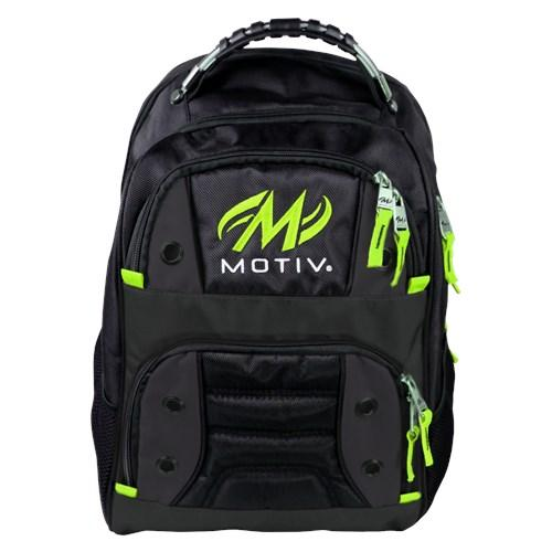 Motiv Intrepid Grey Lime Bowling Backpack-DiscountBowlingSupply.com