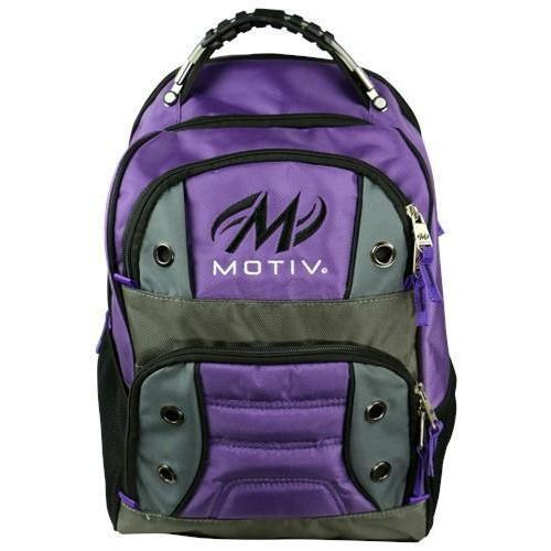 Motiv Intrepid Purple Backpack - DiscountBowlingSupply.com