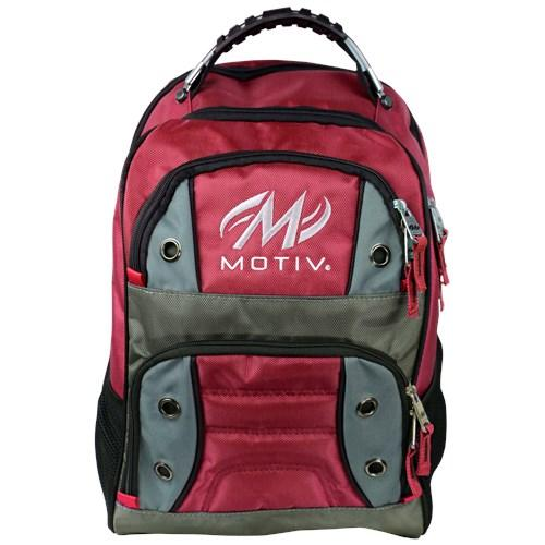 Motiv Intrepid Red Bowling Backpack-DiscountBowlingSupply.com
