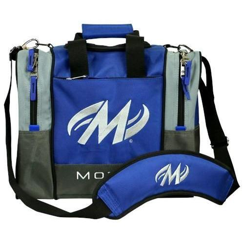 Motiv Shock Blue Single Tote-Bowling Bag-DiscountBowlingSupply.com