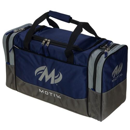 Motiv Shock Double Tote Navy Bowling Bag-DiscountBowlingSupply.com