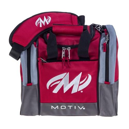Motiv Shock Red Single Tote - DiscountBowlingSupply.com
