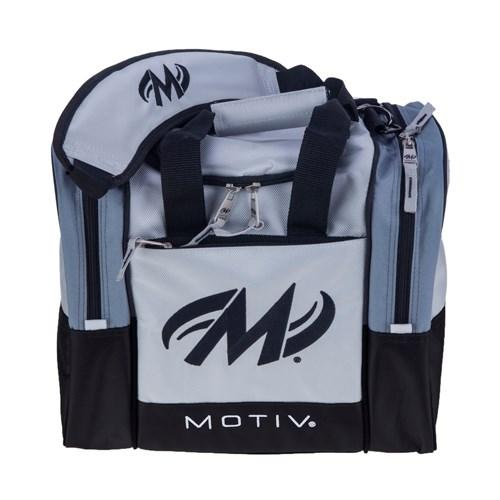 Motiv Shock Silver Single Tote - DiscountBowlingSupply.com