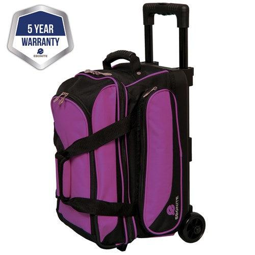 Ebonite Eclipse Single Roller Purple Bowling Bag
