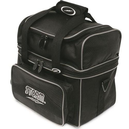 Storm 1 Ball Flip Tote Black-Bowling Bag-DiscountBowlingSupply.com