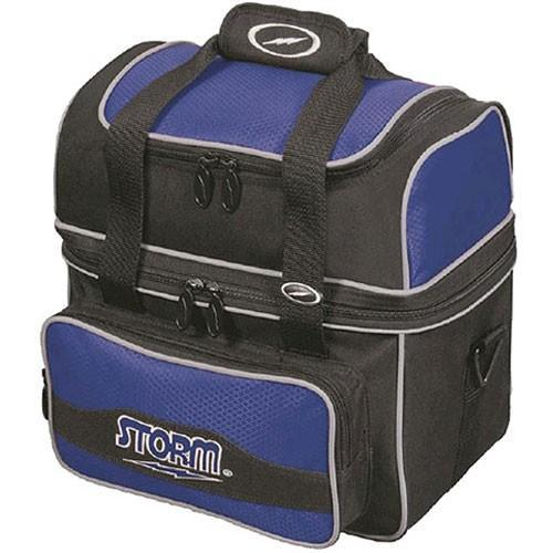 Storm 1 Ball Flip Tote Blue-Bowling Bag-DiscountBowlingSupply.com