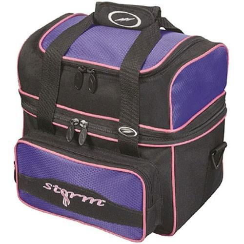 Storm 1 Ball Flip Tote Purple-Bowling Bag-DiscountBowlingSupply.com