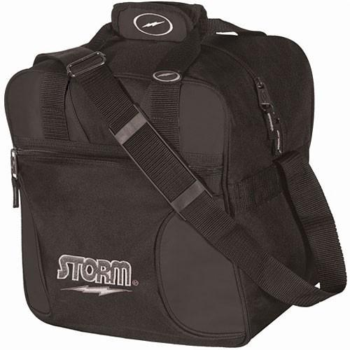 Storm 1 Ball Solo Black-Bowling Bag-DiscountBowlingSupply.com