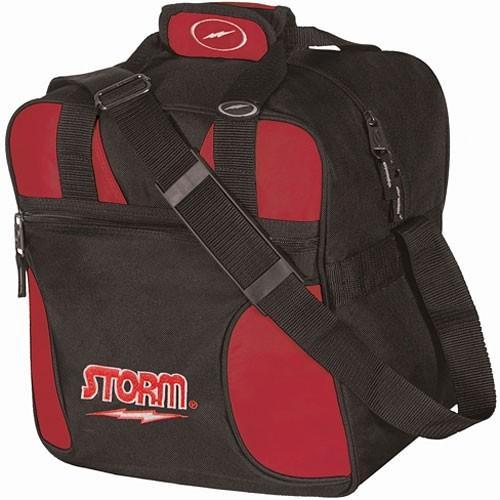 Storm 1 Ball Solo Red - DiscountBowlingSupply.com