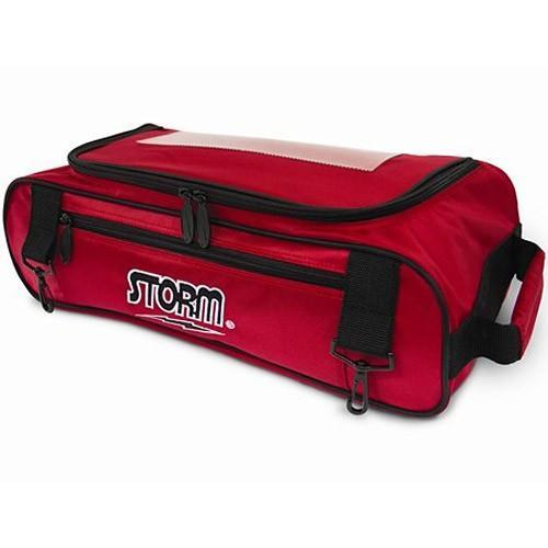 Storm Shoe Bag Red Black - DiscountBowlingSupply.com