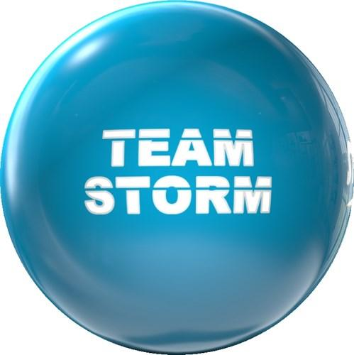 Storm Clear Storm Electric Blue Bowling Ball-DiscountBowlingSupply.com