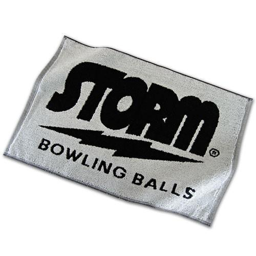 Storm Logo Black/Grey Towel - DiscountBowlingSupply.com