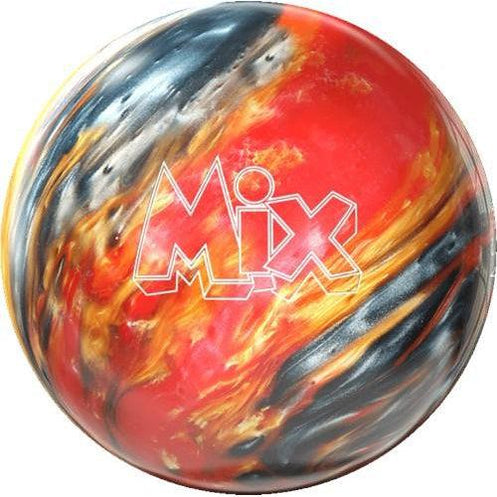 Storm Mix Red Silver Gold Bowling Ball-DiscountBowlingSupply.com