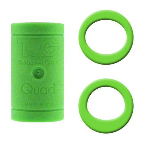 Turbo Grips Quad Finger Insert Green - DiscountBowlingSupply.com