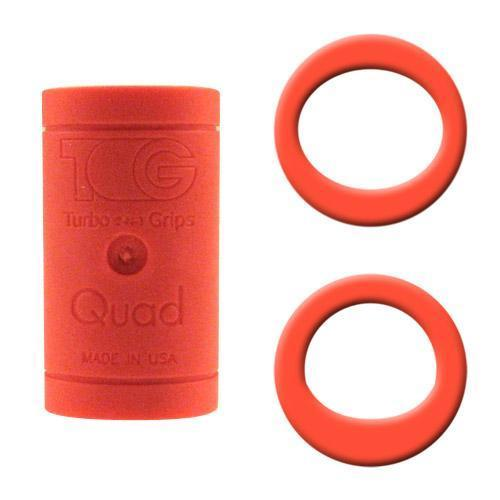 Turbo Grips Quad Finger Insert Orange - DiscountBowlingSupply.com