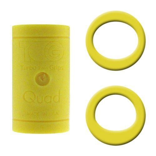 Turbo Grips Quad Finger Insert Yellow - DiscountBowlingSupply.com