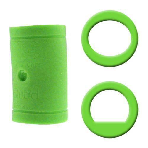 Turbo Grips Quad Classic Finger Insert Green - DiscountBowlingSupply.com