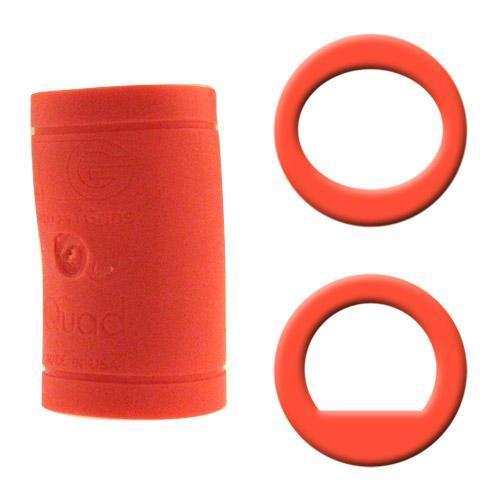 Turbo Grips Quad Classic Finger Insert Orange - DiscountBowlingSupply.com