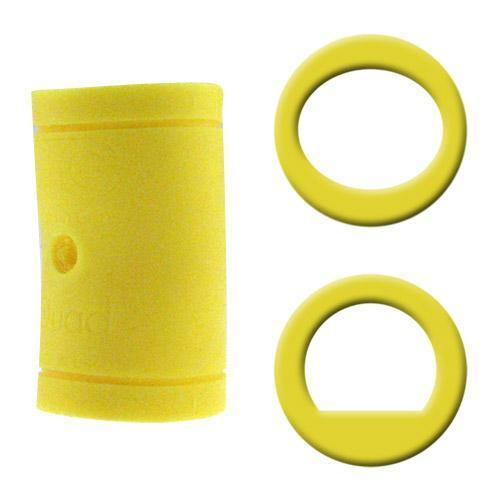 Turbo Grips Quad Classic Finger Insert Yellow - DiscountBowlingSupply.com