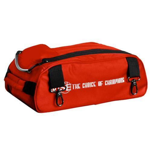 Vise 2 Ball Add-On Shoe Bag Red - DiscountBowlingSupply.com