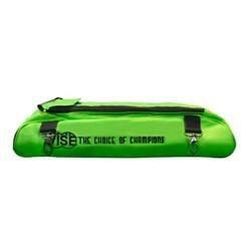 Vise 3 Ball Add-On Shoe Bag Green - DiscountBowlingSupply.com