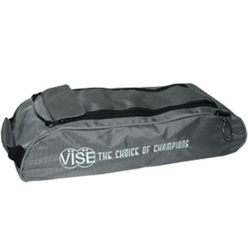 Vise 3 Ball Add-On Shoe Bag - Grey - DiscountBowlingSupply.com