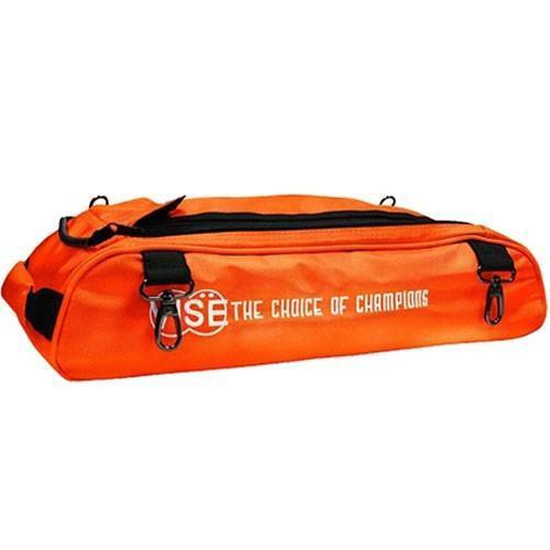 Vise 3 Ball Add-On Shoe Bag - Orange - DiscountBowlingSupply.com