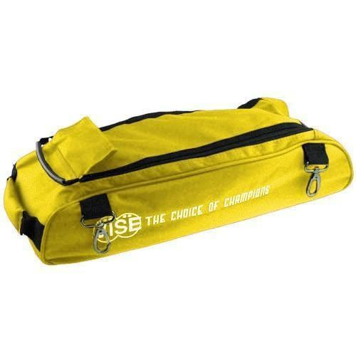 Vise 3 Ball Add-On Shoe Bag Yellow - DiscountBowlingSupply.com