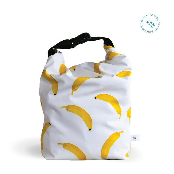 rü supply co. lunch bag for men bananas
