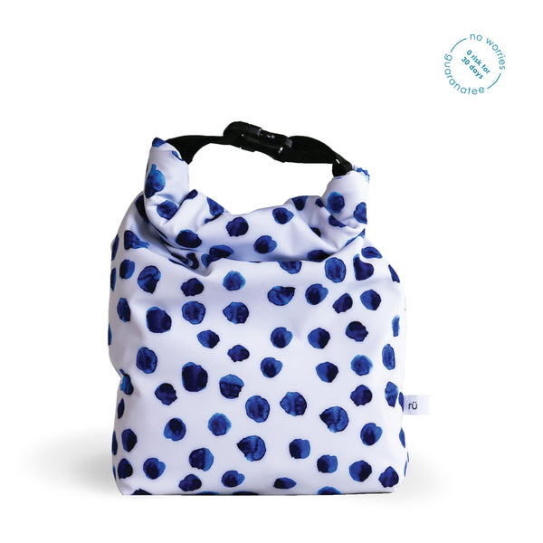 polka dot lunch bags