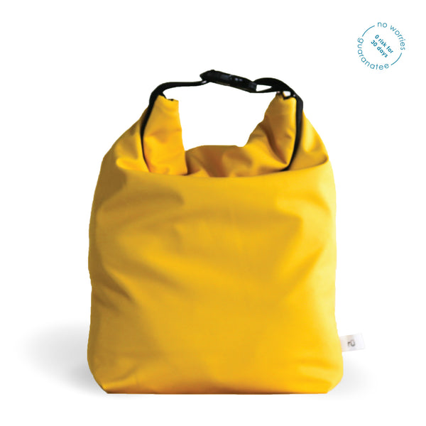 yellow lunch bags
