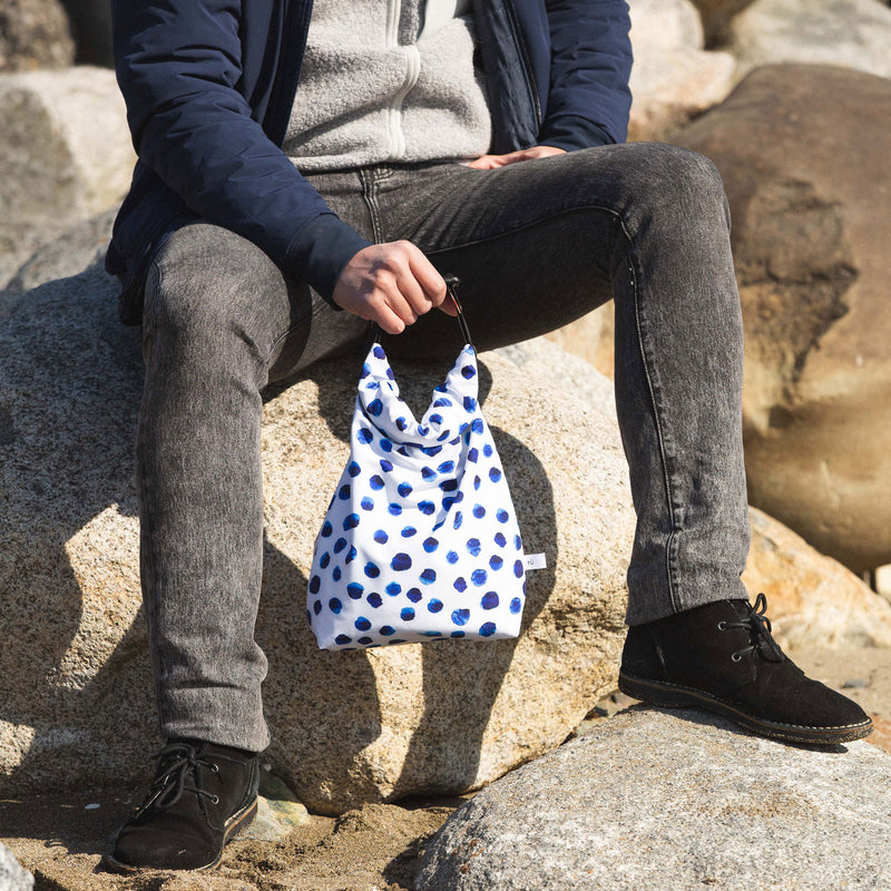 polka dot lunch box for men