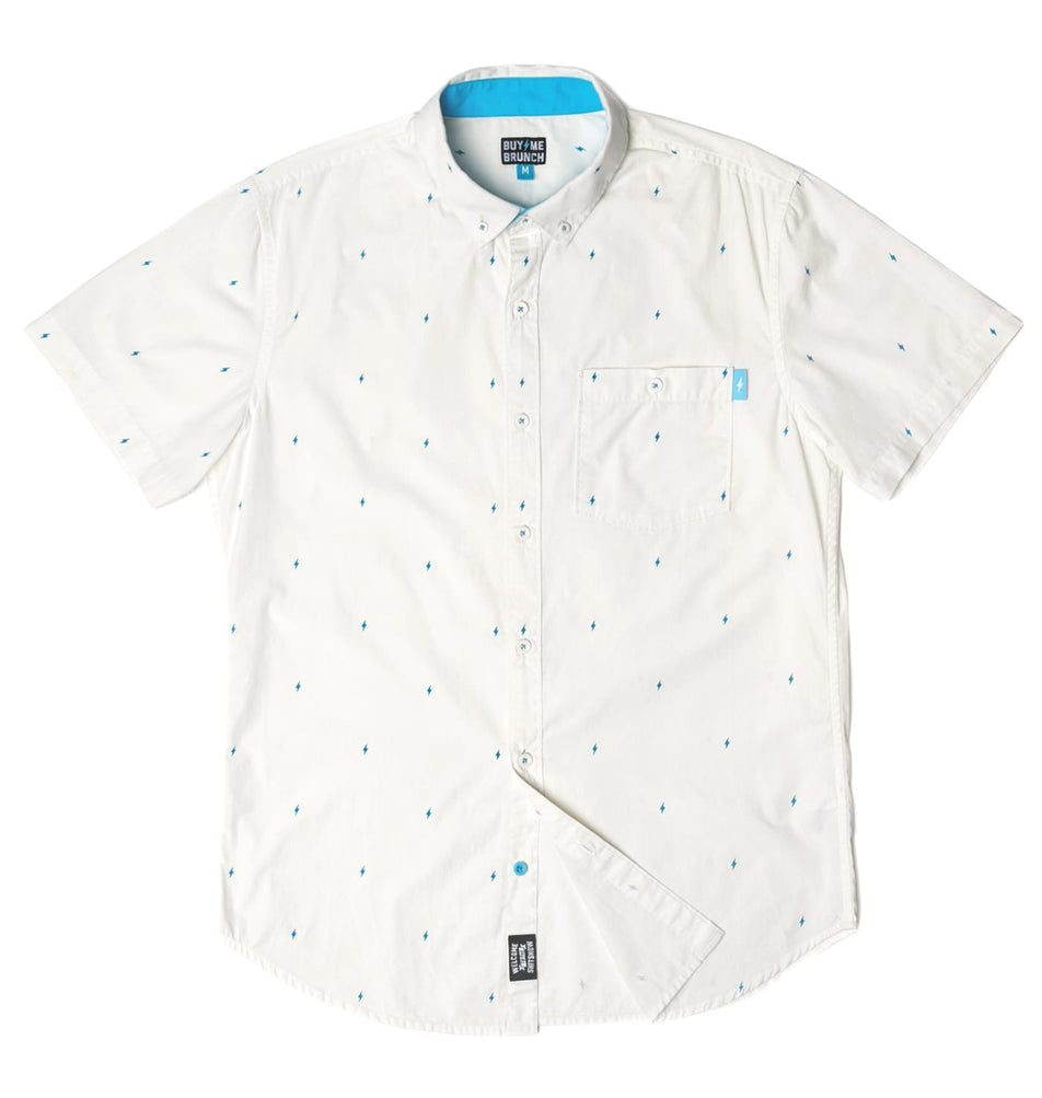 Bolt Short Sleeve Button Up