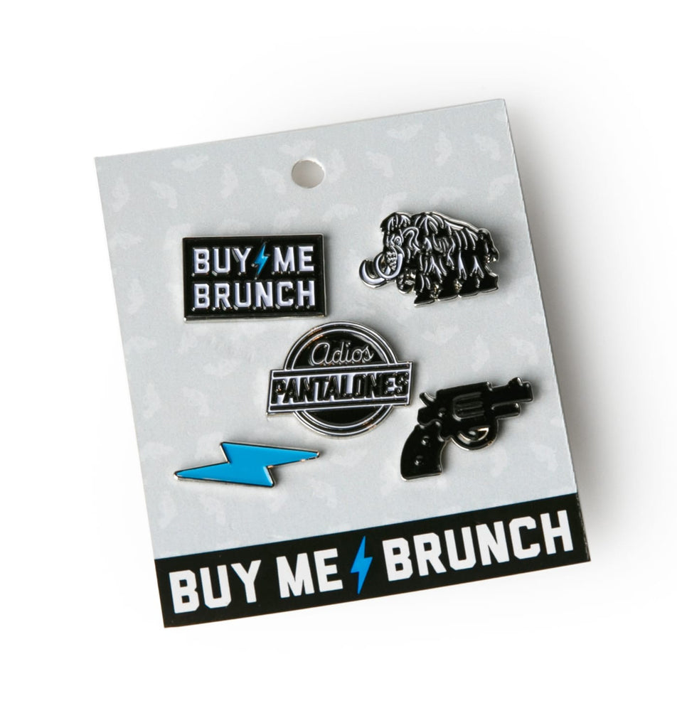 Buy Me Brunch Pin 5-Pack