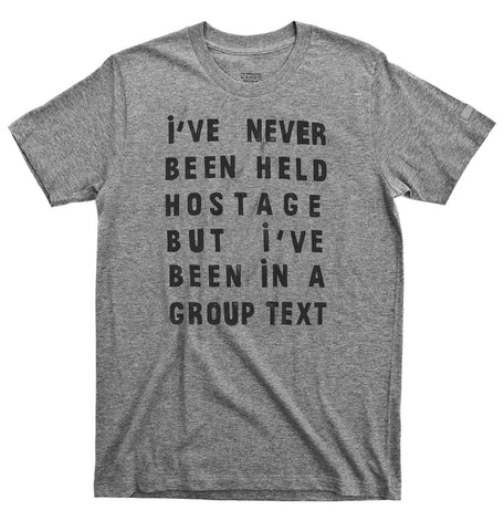 group text tee