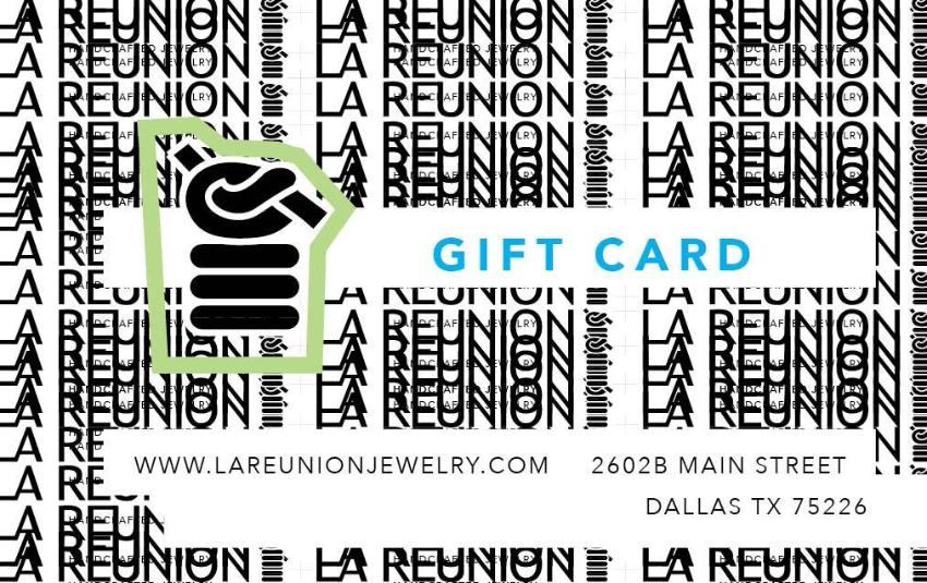 LA REUNION Jewelry Gift Card