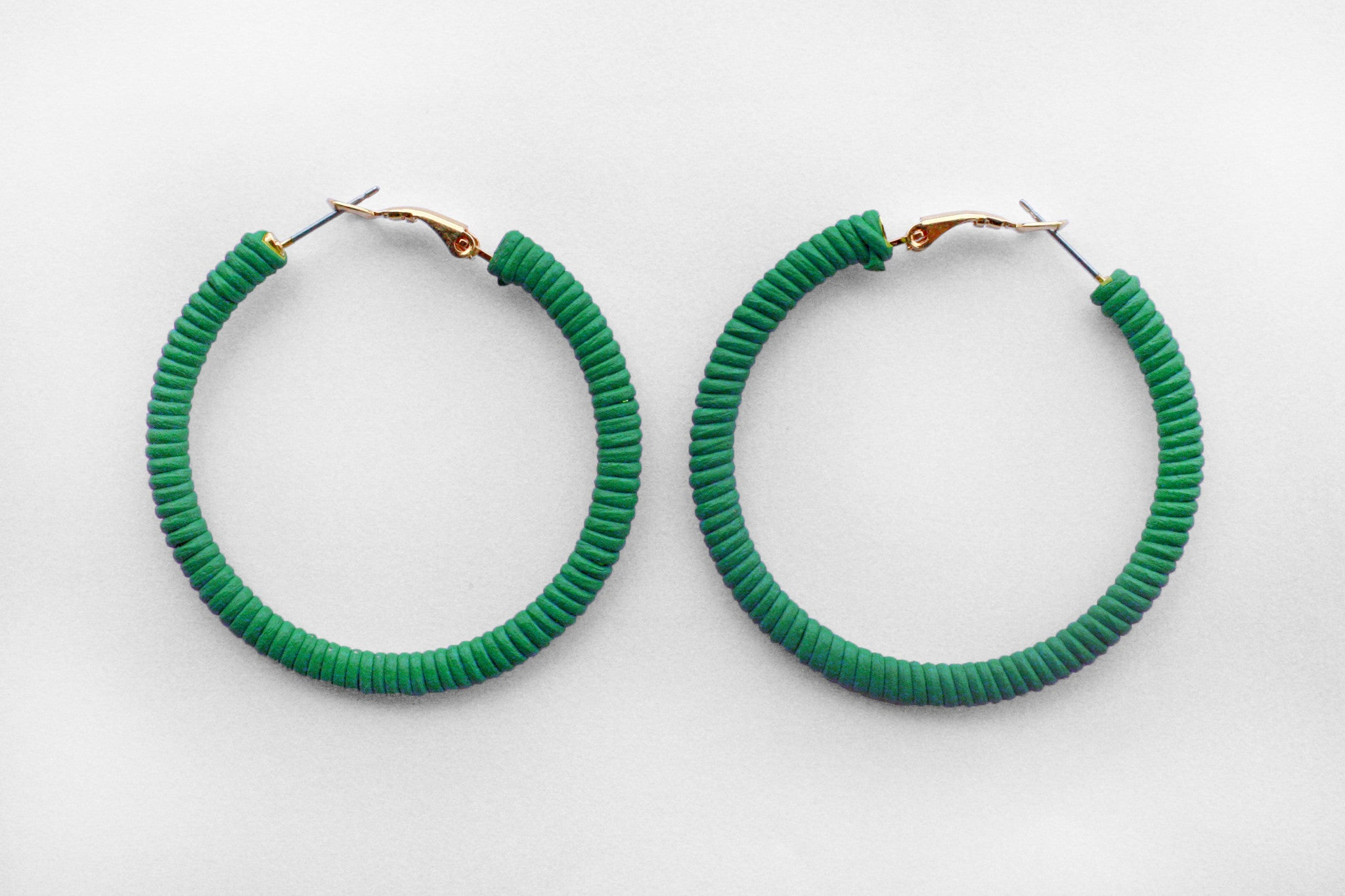 Small Green Hoops