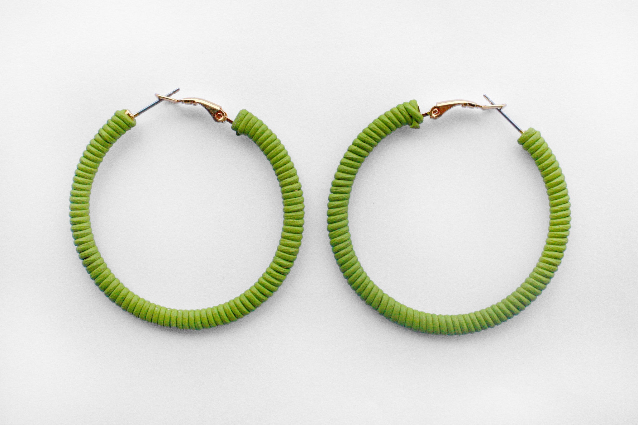 Small Lily Hoops