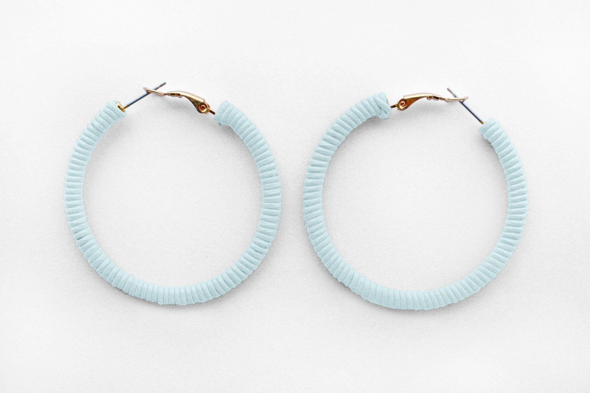 Small Seaglass Hoops