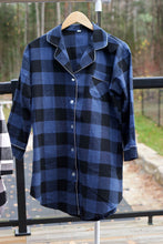 Load image into Gallery viewer, Plaid Night Shirt-preorder closing May 12th