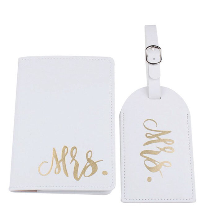 Luggage Tags and Passport Holders -arriving early April